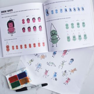 Finger Print Princesses and Fairies and 100 Other Magical Creatures