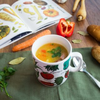 """Almost a Full Moon"" inspired Soup Recipe"