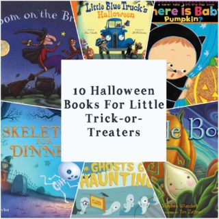 10 Halloween Books for Little Trick-Or-Treaters