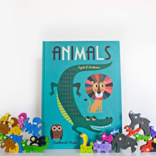 """Animals"" and Animal Parade A-Z Puzzle"