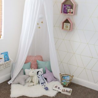 Canopy Book Nook Reveal