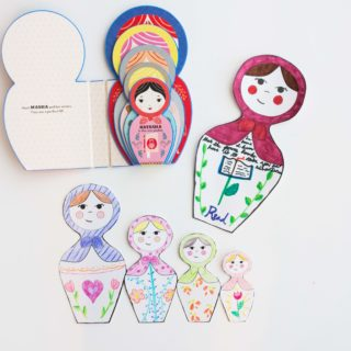 """""""Masha and Her Sisters"""" with DIY Russian Doll Craft & Printables"""