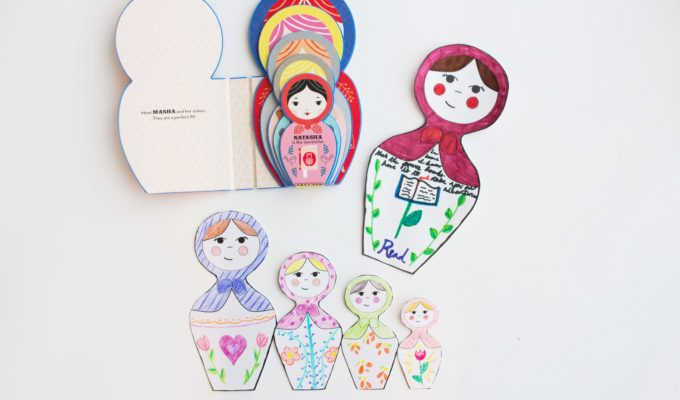 """Masha and Her Sisters"" with DIY Russian Doll Craft & Printables"