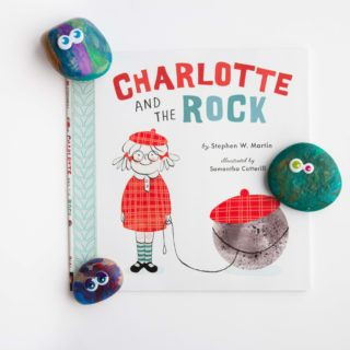 """""""Charlotte and the Rock"""" with DIY Pet Rocks"""