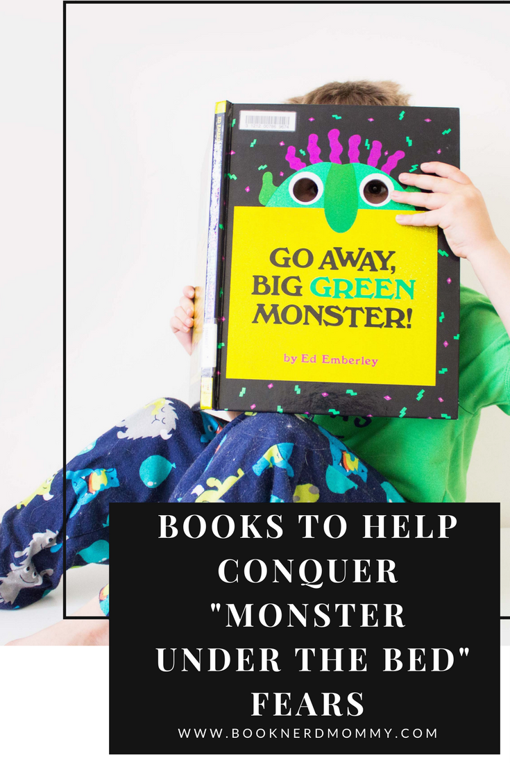 """A book list full of fantastic picture books that are wonderful for helping your child to conquer those """"monster under the bed"""" fears."""